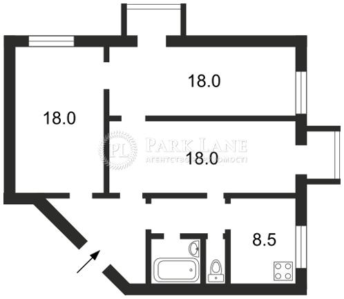 Квартира ул. Зоологическая, 8, Киев, Z-642187 - Фото 2