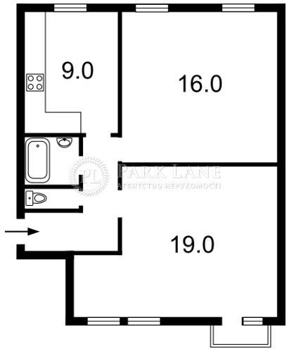 Квартира вул. Антоновича (Горького), 48б, Київ, Z-1018128 - Фото 2