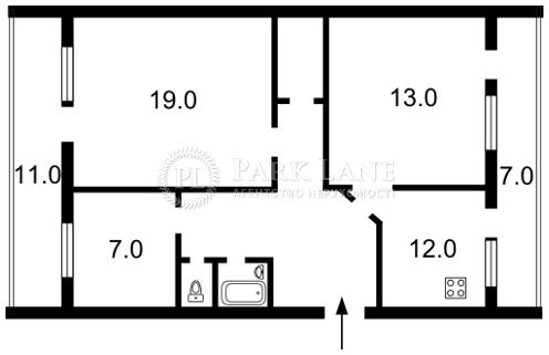Квартира вул. Володимирська, 12в, Київ, Z-1009813 - Фото 2