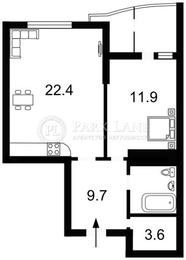 Квартира ул. Львовская, 26а, Киев, E-27985 - Фото 2