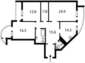 Квартира K-13992, Лесі Українки бул., 7б, Київ - Фото 4