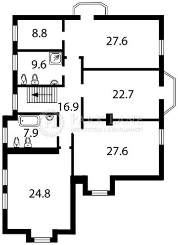 Будинок Гостомель, F-25144 - Фото 3