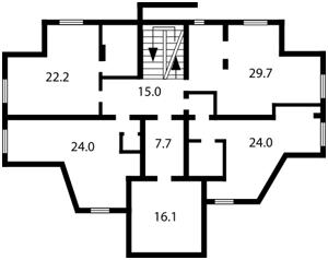 Коммерческая недвижимость, B-84716, Маланюка Евгения (Сагайдака Степана), Днепровский район