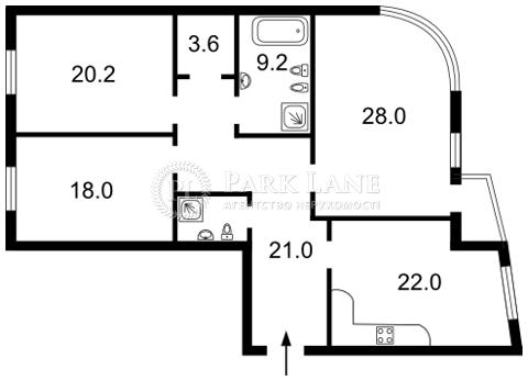 Квартира ул. Московская, 46/2, Киев, Z-1045875 - Фото 2