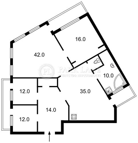 Квартира ул. Обсерваторная, 10, Киев, J-16497 - Фото 2