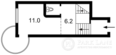Квартира ул. Саперно-Слободская, 8, Киев, Z-1073767 - Фото 2