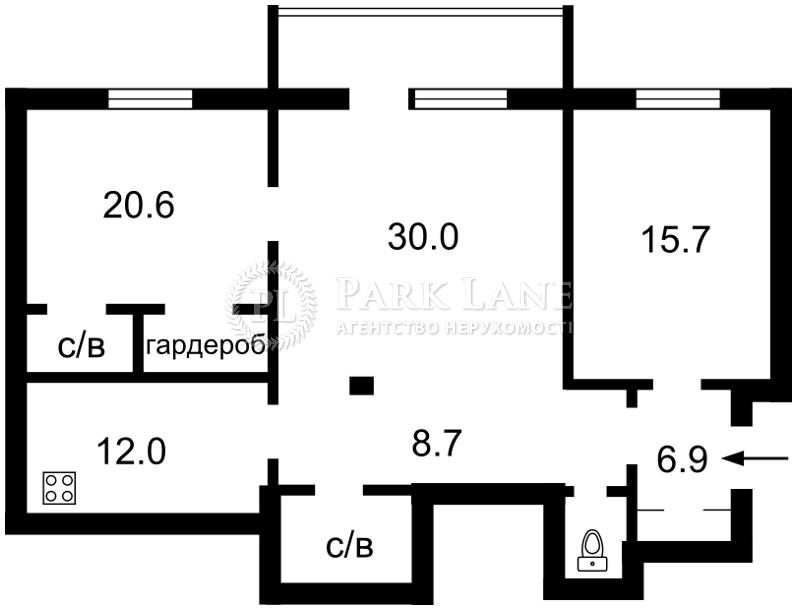Квартира вул. Велика Васильківська, 14, Київ, Z-1142858 - Фото 2