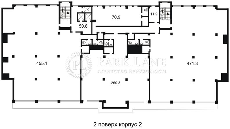 Офис, Гавела Вацлава бульв. (Лепсе Ивана), Киев, H-26860 - Фото 3