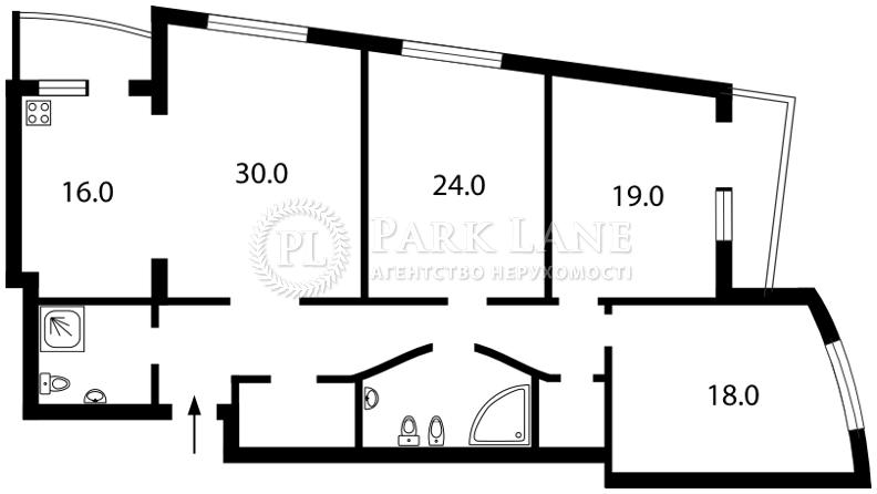 Квартира ул. Окипной Раиcы, 10а, Киев, I-18608 - Фото 2