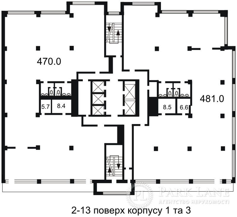 Офис, Гавела Вацлава бульв. (Лепсе Ивана), Киев, H-26864 - Фото 5