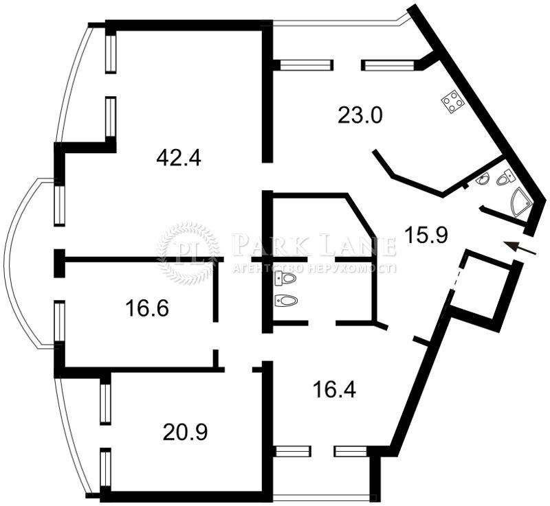 Квартира ул. Дмитриевская, 48г, Киев, J-5086 - Фото 2