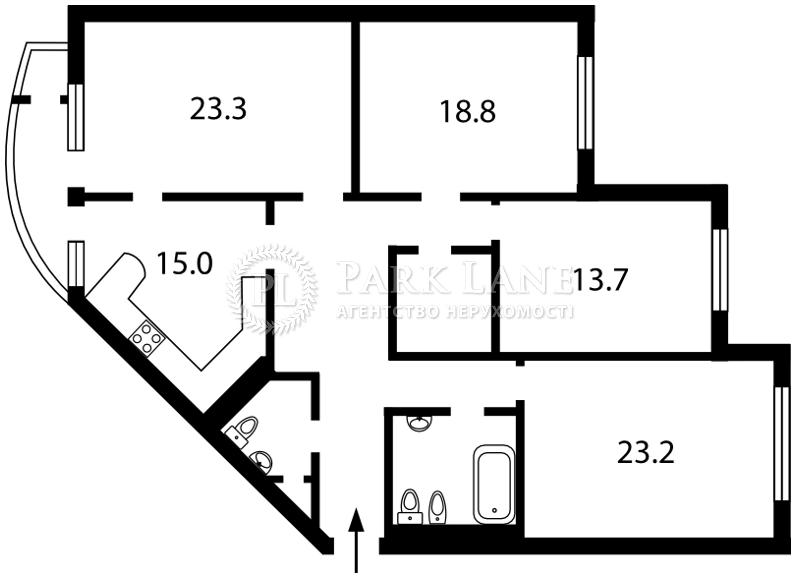 Квартира Леси Украинки бульв., 7б, Киев, R-32922 - Фото 2