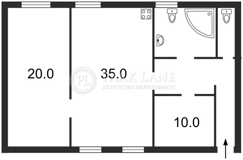 Квартира Михайловский пер., 14, Киев, F-10354 - Фото 2