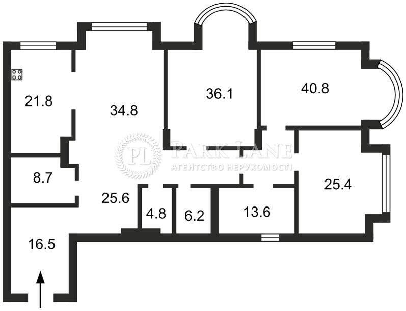 Квартира ул. Институтская, 18а, Киев, M-20931 - Фото 2
