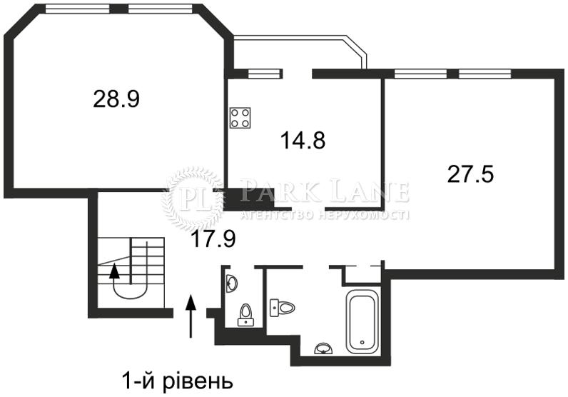 Квартира ул. Коновальца Евгения (Щорса), 32б, Киев, E-29801 - Фото 2