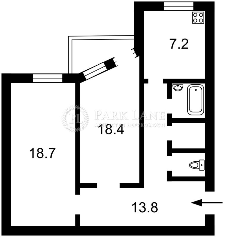 Квартира ул. Стрелецкая, 28, Киев, Z-1208696 - Фото 2