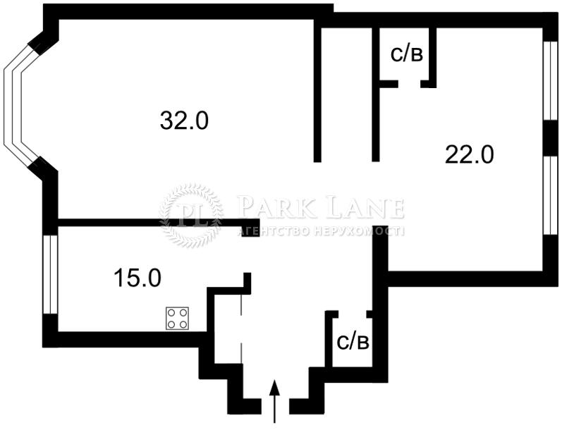 Квартира ул. Гончара Олеся, 26, Киев, Z-1202778 - Фото 2