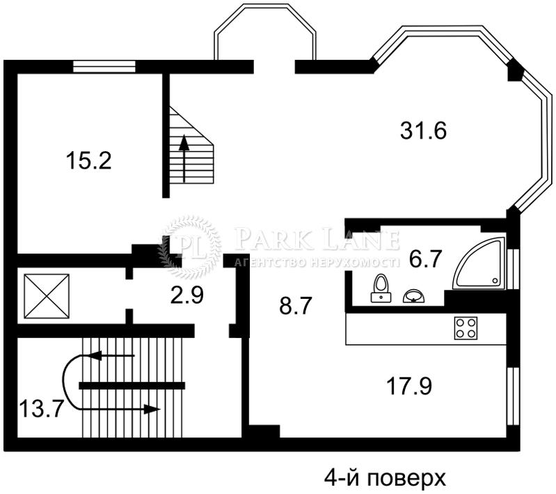 Дом ул. Локомотивная, Киев, E-30510 - Фото 4