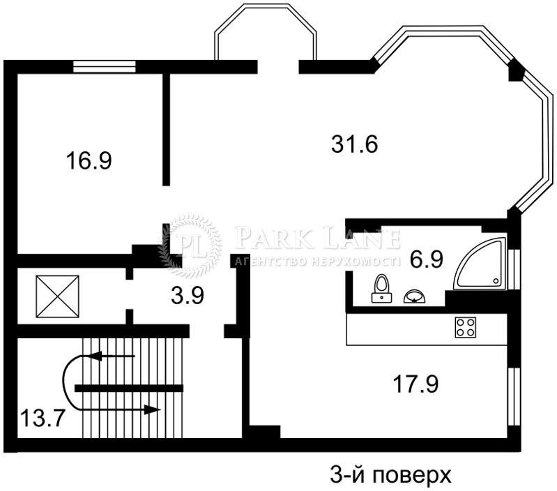 Будинок, вул. Локомотивна, Київ, E-30514 - Фото 3