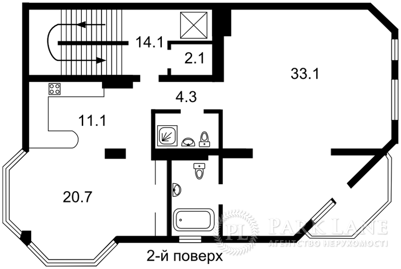 Дом ул. Локомотивная, Киев, E-30508 - Фото 4