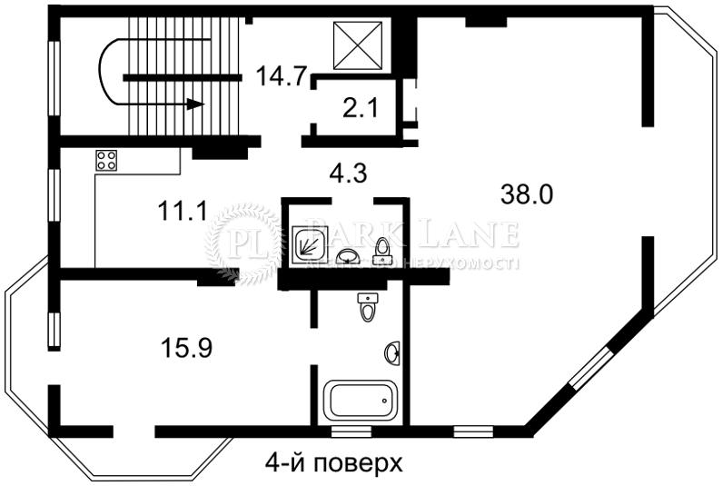 Дом ул. Локомотивная, Киев, E-30508 - Фото 6