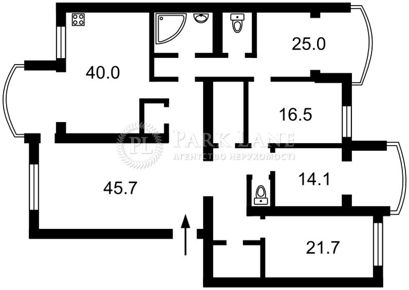 Квартира Героев Сталинграда просп., 10а, Киев, P-8403 - Фото 2