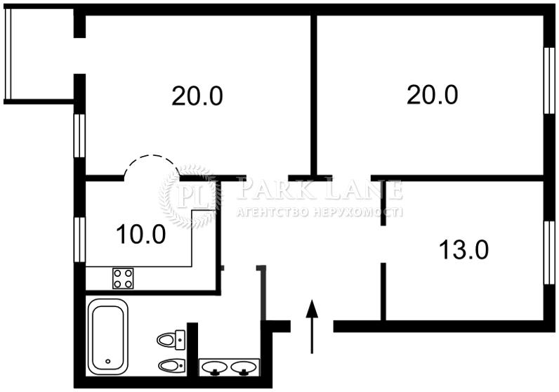 Квартира ул. Толстого Льва, 25, Киев, Z-1241144 - Фото 2