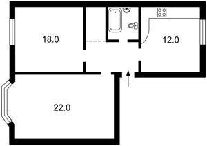 Квартира C-83274, Мазепы Ивана (Январского Восстания), 4/6, Киев - Фото 4