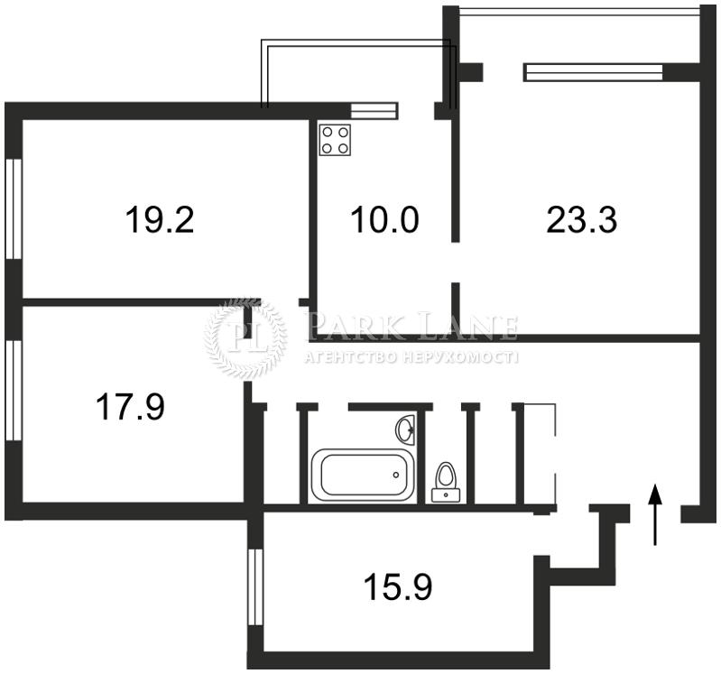 Квартира ул. Старонаводницкая, 6а, Киев, Z-1004097 - Фото 2