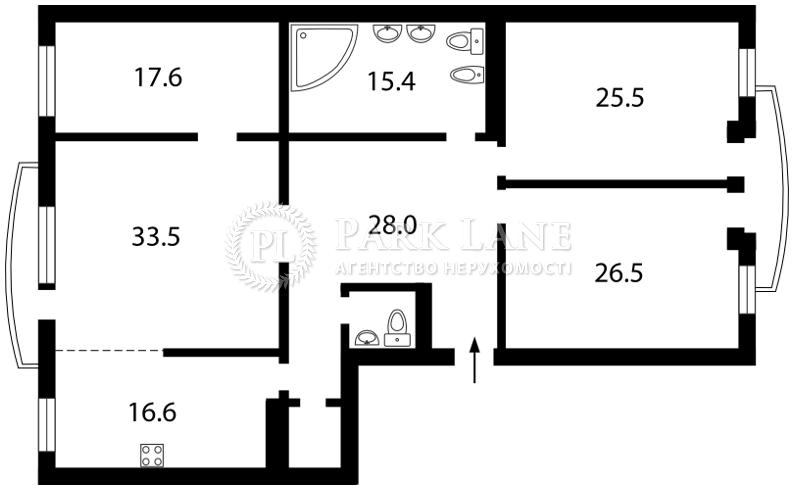 Квартира ул. Тургеневская, 46/11, Киев, X-9001 - Фото 2