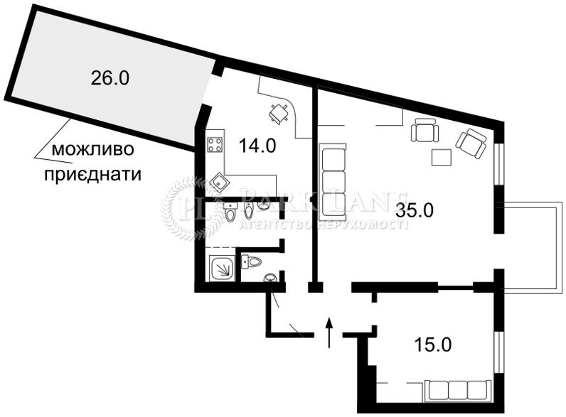 Квартира вул. Володимирська, 5, Київ, Z-1195708 - Фото 2