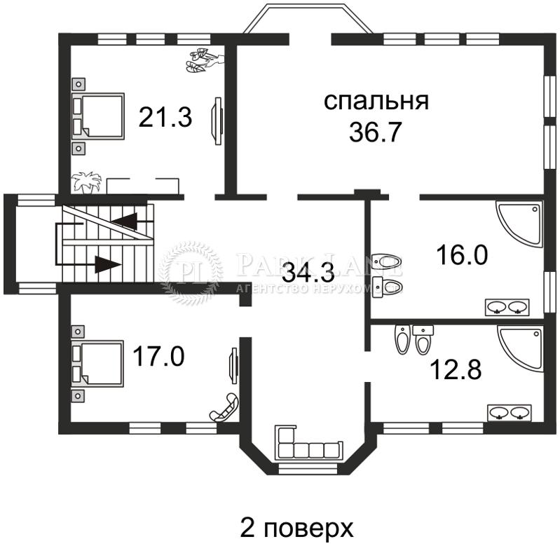 Дом ул. Дружная, Киев, Z-705669 - Фото 5