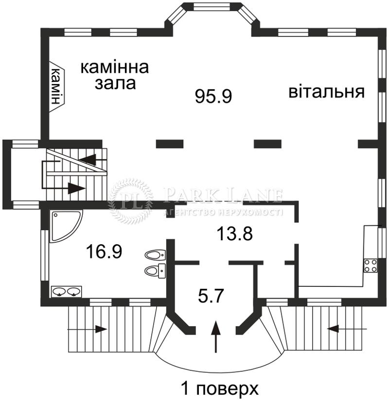 Дом ул. Дружная, Киев, Z-705669 - Фото 4