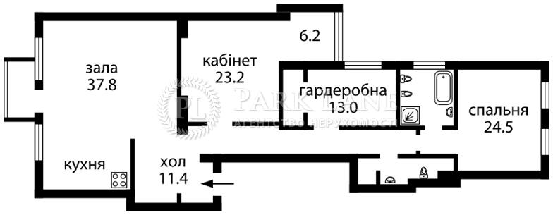 Квартира ул. Антоновича (Горького), 17, Киев, N-6205 - Фото 2