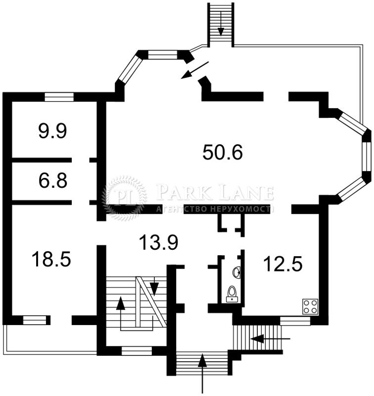 Дом Козин (Конча-Заспа), D-23267 - Фото 2