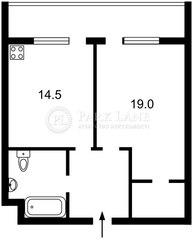 Квартира ул. Драгомирова Михаила, 14, Киев, E-31266 - Фото 2