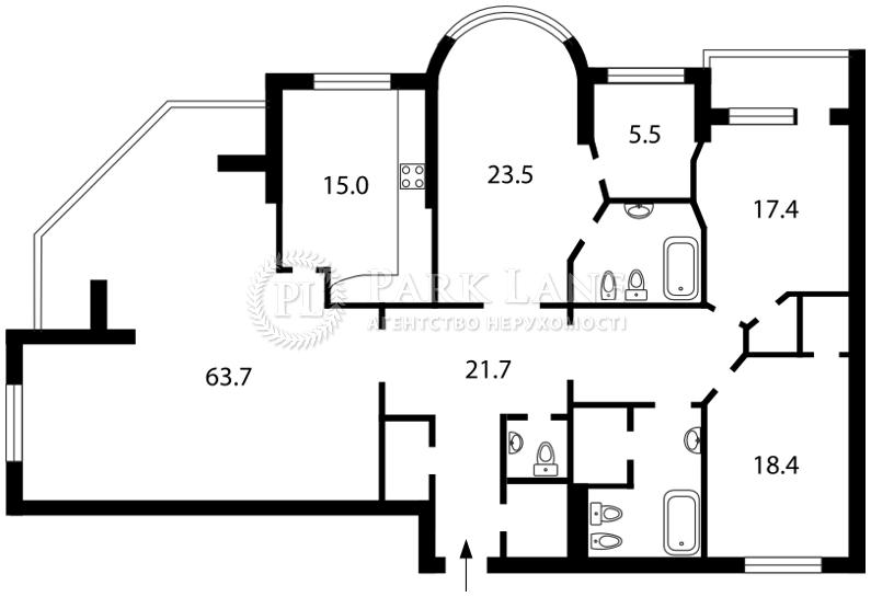 Квартира Шевченко Тараса бульв., 27б, Киев, J-18244 - Фото 2