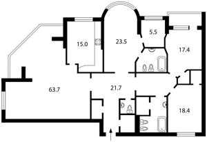 Квартира J-18244, Шевченко Тараса бульв., 27б, Киев - Фото 4