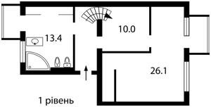 Квартира B-86582, Гончара О., 14/26, Київ - Фото 3