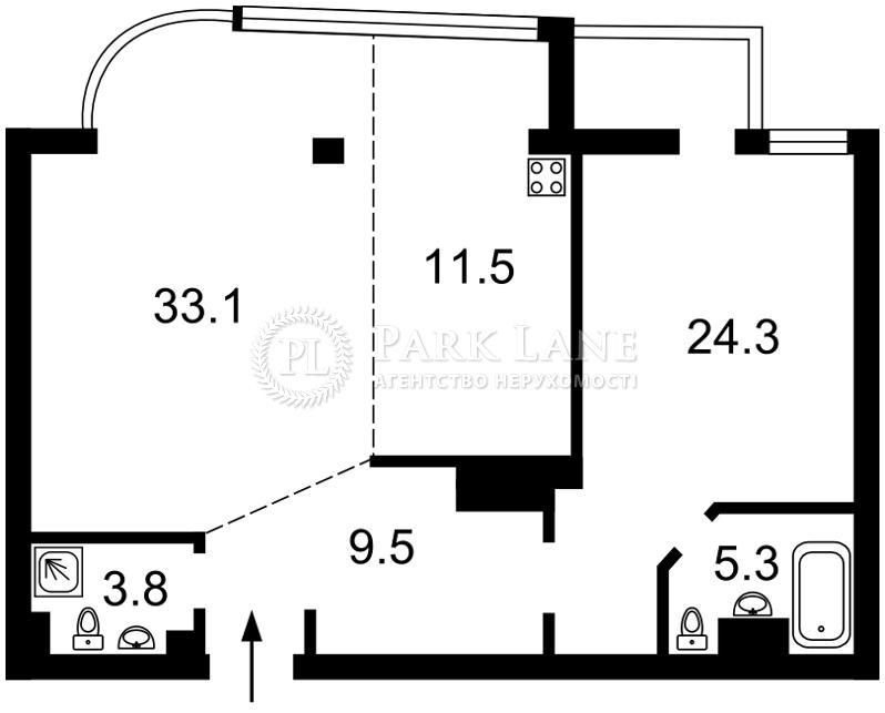 Квартира ул. Московская, 46/2, Киев, X-5388 - Фото 2
