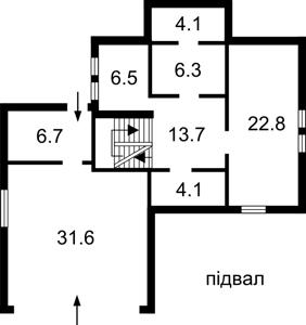 Дом Z-1316519, Ярослава Мудрого, Петропавловская Борщаговка - Фото 4