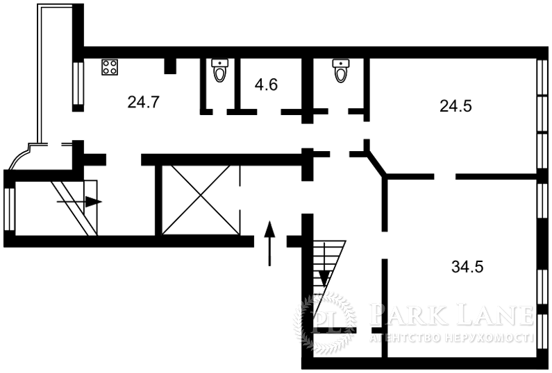 Квартира ул. Городецкого Архитектора, 9, Киев, Z-734056 - Фото 2
