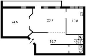 Квартира B-87712, Сечевых Стрельцов (Артема), 40/1, Киев - Фото 6
