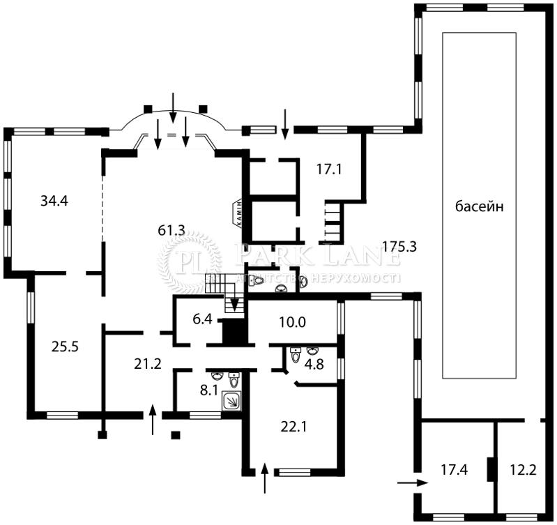 Будинок Березівка, J-18637 - Фото 2