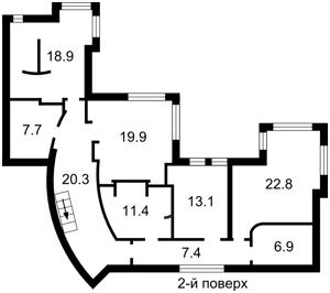 Дом X-1539, Петропавловская Борщаговка - Фото 2