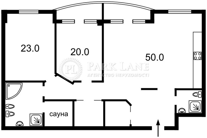 Квартира ул. Жилянская, 59, Киев, F-25573 - Фото 2