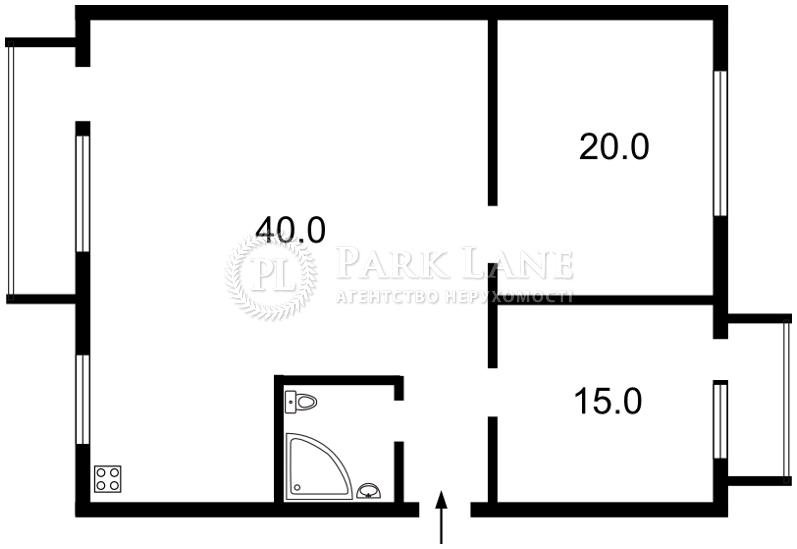 Квартира ул. Круглоуниверситетская, 2/1, Киев, E-28027 - Фото 2