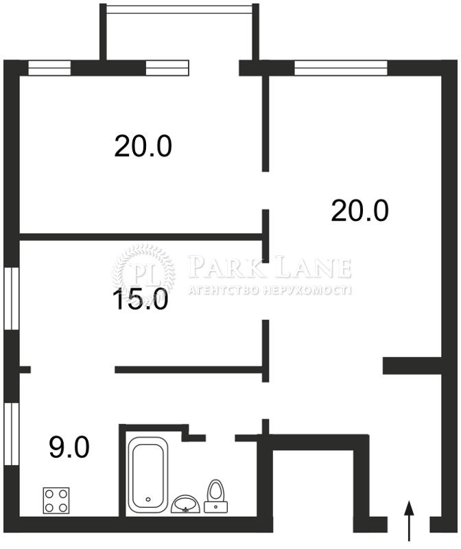 Квартира вул. Мазепи Івана (Січневого Повстання), 9, Київ, Z-588555 - Фото 2