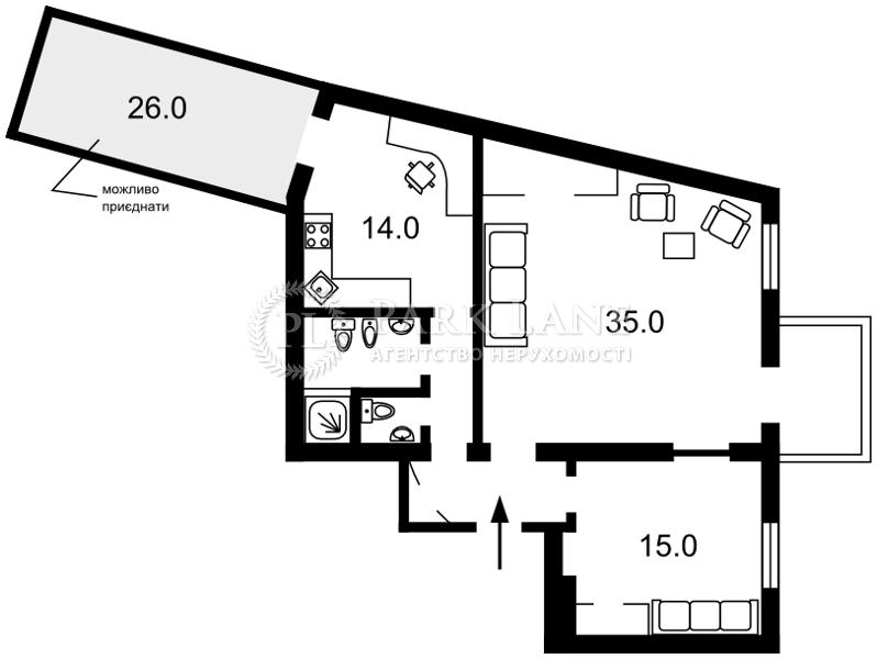 Квартира ул. Владимирская, 5, Киев, E-29100 - Фото 2