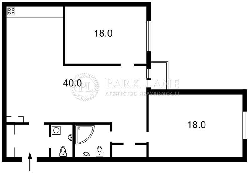 Квартира вул. Еспланадна, 2, Київ, C-85680 - Фото 2